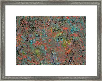 Paint Number 17 Framed Print by James W Johnson