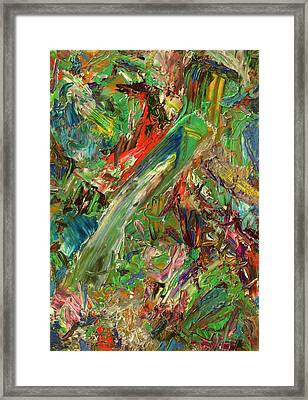 Paint Number 32 Framed Print by James W Johnson