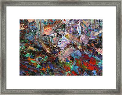 Paint Number 42-c Framed Print by James W Johnson