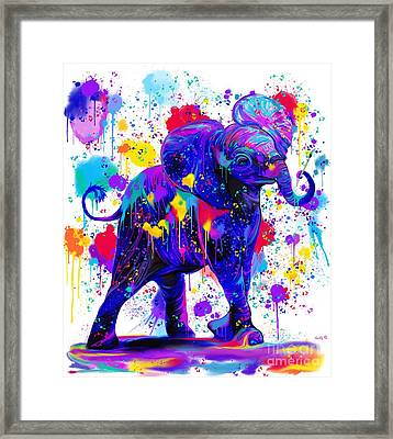 Paint With Me Framed Print by Nick Gustafson