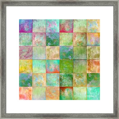 Paintbox Framed Print by Mindy Sommers