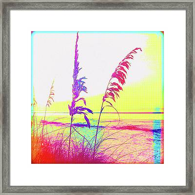 Painted Before Day Framed Print by Chris Andruskiewicz