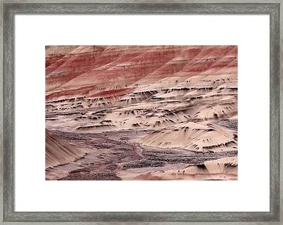 Painted Hills 2b Framed Print by Leland D Howard