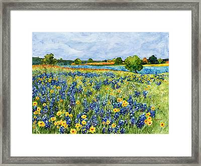 Painted Hills Framed Print by Hailey E Herrera