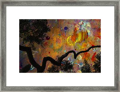 Painted Skies Framed Print by Jan Amiss Photography