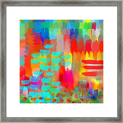 Painter Framed Print by Moon Stumpp