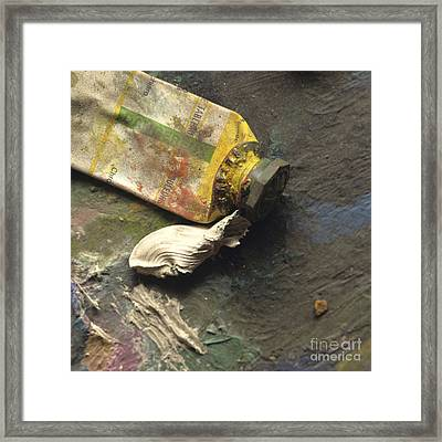 Painting Tub Framed Print by Bernard Jaubert