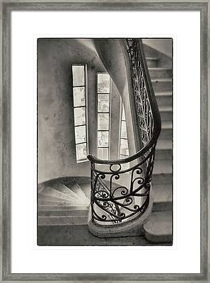 Palacio Barolo Stairs Buenos Aires Framed Print by For Ninety One Days