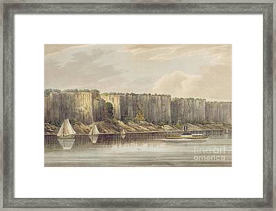 Palisades Framed Print by William Guy Wall