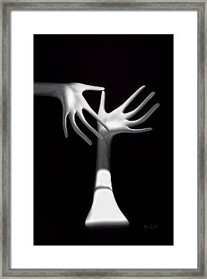 Palm Tickle Two Framed Print by Bob Orsillo