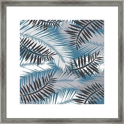 Palm Trees 10 Framed Print by Mark Ashkenazi