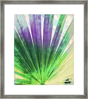 Palmetto Abstract No. 2 Framed Print by Marvin Spates