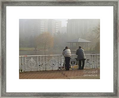 Pals Framed Print by Alfredo Rodriguez