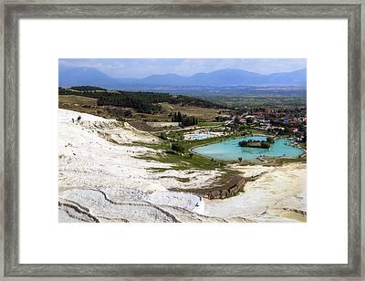 Pamukkale - Turkey Framed Print by Joana Kruse