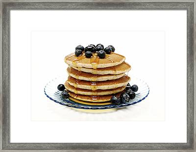 Pancakes Framed Print by Glennis Siverson