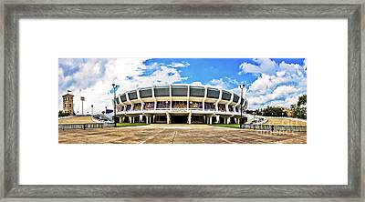 Panoramic P Mac Framed Print by Scott Pellegrin