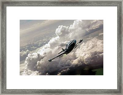 Panther Uprising Framed Print by Peter Chilelli