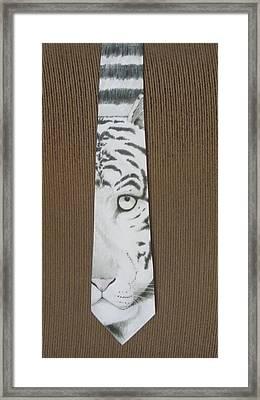 Panthera Tigris Framed Print by David Kelly