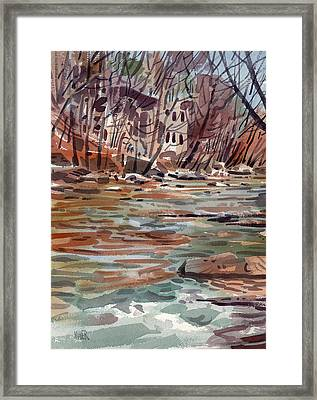 Paper Mill Framed Print by Donald Maier