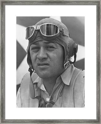 Pappy Boyington - Ww2 Framed Print by War Is Hell Store