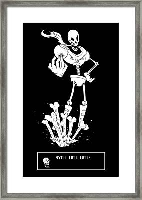Papyrus Framed Print by Mary Leroy