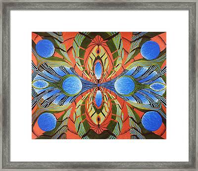 Paradigm Portal Framed Print by Maxwell Hanson