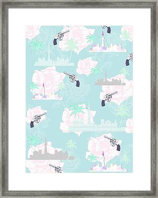 Paradise City Framed Print by Beth Travers
