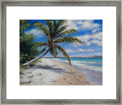 Paradise Found Framed Print by Susan Jenkins
