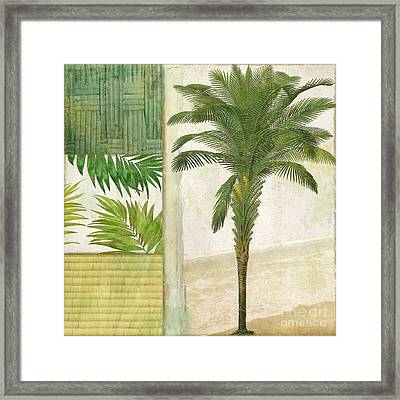 Paradise I Framed Print by Mindy Sommers
