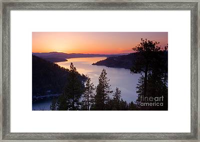 Paradise View Framed Print by Idaho Scenic Images Linda Lantzy