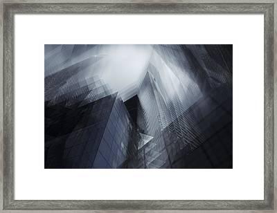 Parallel Framed Print by Sebastien Del Grosso
