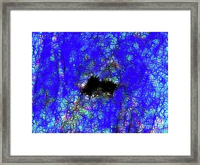 Paranoia Framed Print by Wingsdomain Art and Photography
