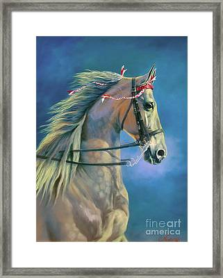 Paranormal Framed Print by Jeanne Newton Schoborg