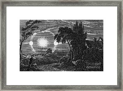 Parhelion, 1820 Framed Print by Wellcome Images