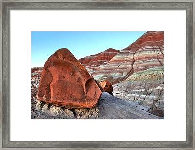 Paria Boulder Framed Print by David Andersen