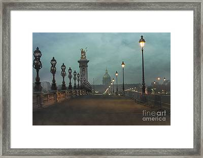 Paris Framed Print by Juli Scalzi