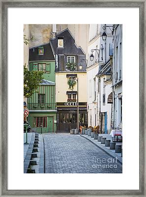Paris Avenue Framed Print by Brian Jannsen