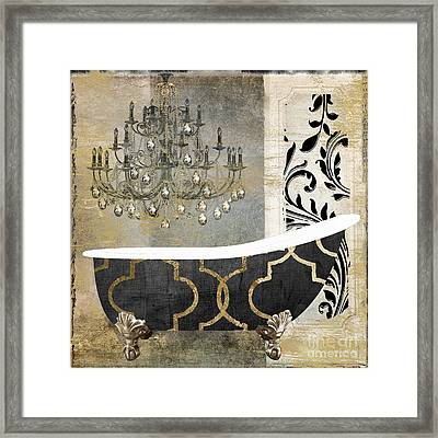 Paris Bath II Framed Print by Mindy Sommers