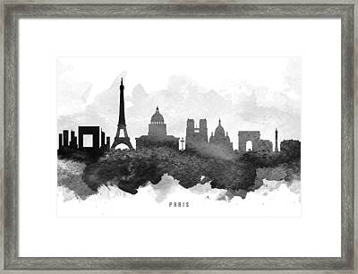 Paris Cityscape 11 Framed Print by Aged Pixel