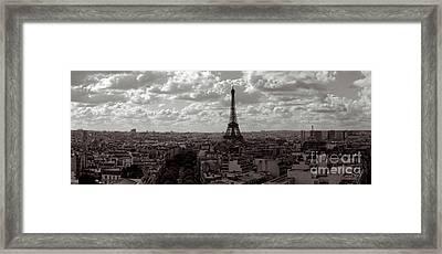 Paris Framed Print by Joerg Lingnau
