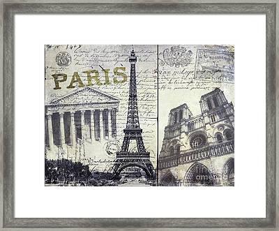 Paris Framed Print by Jon Neidert