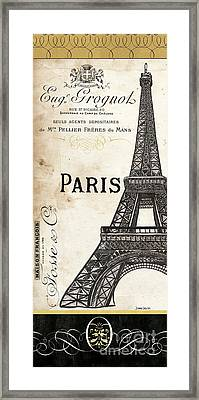 Paris, Ooh La La 1 Framed Print by Debbie DeWitt