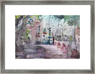 Park Avenue 2 Framed Print by Becky Kim