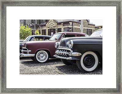 Parked Framed Print by CJ Schmit
