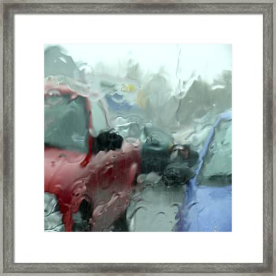 Parking Lot Framed Print by Mike McGlothlen