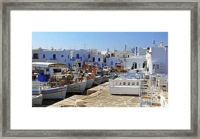 Paros Framed Print by Christo Christov
