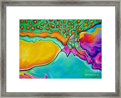 Parrotfish 2 Framed Print by John Clark