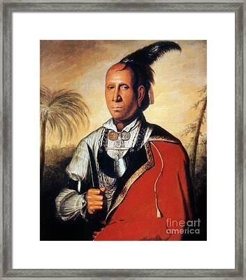Parsons - Cherokee 1762 Framed Print by Granger