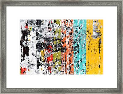 Part Of Pulsations 1 Framed Print by Sumit Mehndiratta