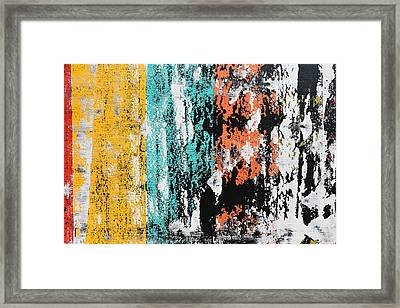 Part Of Pulsations 2 Framed Print by Sumit Mehndiratta